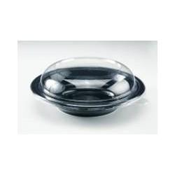 Caseroa neagra + capac transparent 750 cc